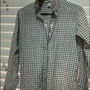 HM Checker Box Button Down